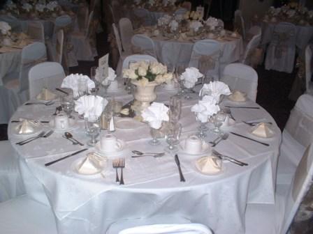 Banquet Table Setup Dekor Indonesia