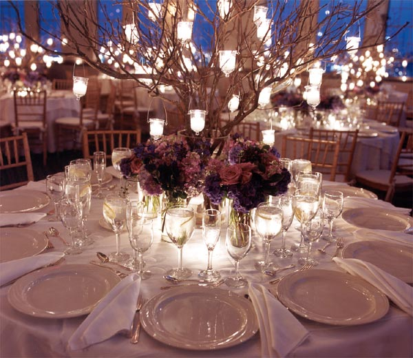 Fall Wedding Candle Centerpieces Dekor Indonesia